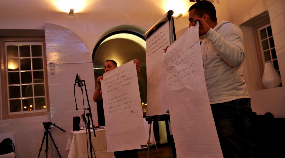 Slide 5: Workshop CD-opnemen